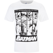 DC Comics Batman Herren I am Batman T-Shirt - Schwarz