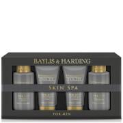 Baylis & Harding Skin Spa Amber & Sandalwood 4 Piece Gift Box