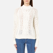 Gestuz Women's Camilly Pullover Jumper - Cloud Dancer