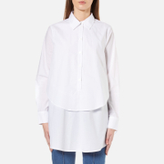 Gestuz Women's Ira Double Layer Shirt - White