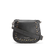 Marc Jacobs Women's Grommet Small Nomad Saddle Bag - Black