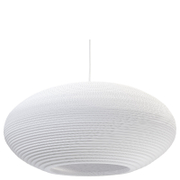 Graypants Disc Pendant - 24 Inch - White