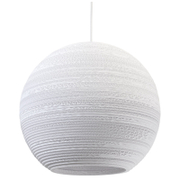 Graypants Moon Pendant - 18 Inch - White