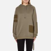 Helmut Lang Women's Patch Pocket Sweatshirt - Vintage Marsh