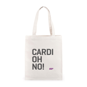 Сумка для зала со слоганом Cardiohno