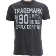 Threadbare Men's Palm T-Shirt - Black
