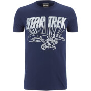 Star Trek Men's Original Enterprise T-Shirt - Schwarz