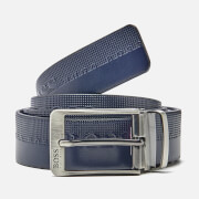 BOSS Green Men's Troy Belt - Navy