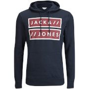 Jack & Jones Men's Core Submit Hoody - Navy Blazer