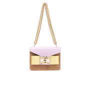 SALAR Women's Mila Bag - Marrone/Lilla
