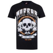 No Fear Men's Skull Chain T-Shirt - Black