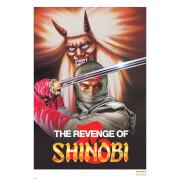 Revenge of Shinobi Limited Edition Giclee Art Print - Timed Sale