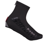 Santini Wall Aero Waterproof Overshoe - Black