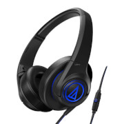 Audio-Technica SonicFuel ATH-AX5iS Headphones - Black