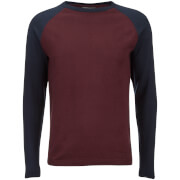 Pull Fin Raglan Jack & Jones Homme Originals Kaduna -Bordeaux