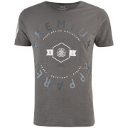 T-Shirt Homme Plastersque Smith & Jones -Charbon