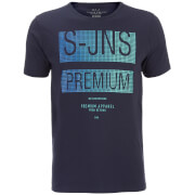 Camiseta Smith & Jones Trapezoid - Hombre - Azul marino