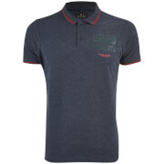 Polo Homme Homme Albedo Smith & Jones - Bleu Marine Chiné