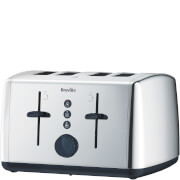 Breville VTT549 Vista Polished Stainless Steel 4 Slice Toaster