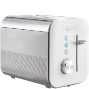Breville VTT686 High Gloss 2 Slice Toaster - White