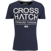 Crosshatch Herren Roshaun T-Shirt - Total Eclipse