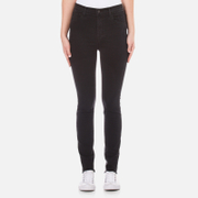 J Brand Women's Carolina Super High Rise Supersoft Photoready Skinny Jeans - Exile