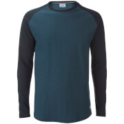 Jack & Jones Men's Originals Stan Raglan Long Sleeve Top - Total Eclipse