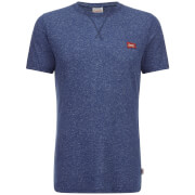 Jack & Jones Men's Originals Kingpin Textured T-Shirt - Dark Denim Marl
