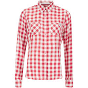 Superdry Women's Classic Boyfriend Shirt - Red Gingham