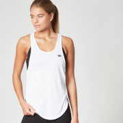 Myprotein Core Twist Racer Back Vest for kvinner - Hvit