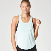 Myprotein Dames Core Racer Back Crop Top - Mint Groen