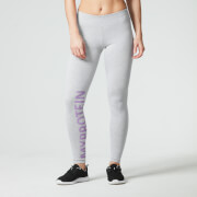 Myprotein Logo Leggings til kvinder –Grå