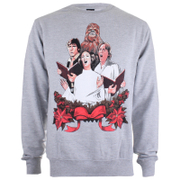 Star Wars Men's Christmas Choir Crew Sweatshirt - Grey Heather