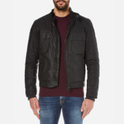 Barbour International Men's Oil Wax Jacket - Black