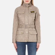 Barbour International Women's Quilt Jacket - Taupe Pearl