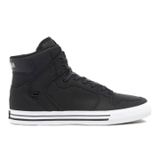 Supra Men's Vaider High Top Trainers - Black/White
