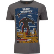 Atari Men's Space Invaders Arcade Graphics T-Shirt - Grey