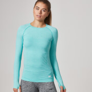 Myprotein Women's Seamless Long Sleeve T-Shirt - Mint Green