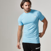 Myprotein Men's Seamless T-Shirt– Blue