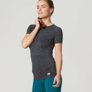 Myprotein Women's Seamless Short Sleeve T-Shirt - Smoke