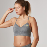Myprotein Women's Core Sports Bra – Grey Marl