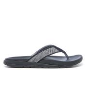 UGG Men's Tenoch Hyperweave Treadlite Toe Post Sandals - Black
