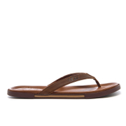 UGG Men's Bennison II Flip Flops - Luggage