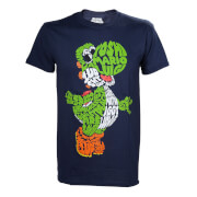 Super Mario Yoshi Word Play T-Shirt - Navy