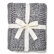 UGG Oversized Knitted Blanket - Grey