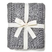 UGG Oversized Knitted Blanket - Grey