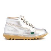 Kickers Kids' Kick Hi Boots - Silver