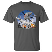 Star Wars Rogue One Men's AT - AT Battle T-Shirt - Grey
