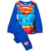 DC Boy's Superman Novelty Cape Pyjamas - Blue