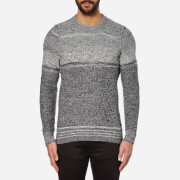BOSS Orange Men's Agruade Crew Neck Jumper - Grey